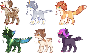 New Doggo Base Adopts - OTA - [CLOSED] by Love4Fluffy-Adopts