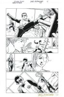 TEEN TITANS #90 Pg 4 ROBIN (Damian) + RAVAGER Sold by DRHazlewood