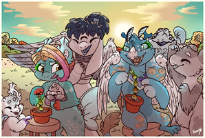 [IM - Earth - Sprout Seeds] - Friendly Competition by Frozen--Star