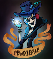 HAPPY (late) HALLOWEEN || pewdiepie by gibby109