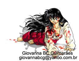 Wounded Human Inuyasha by giovannag