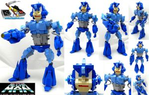 Mecha Man -- LEGO Mega Man Upgrade by VonBrunk
