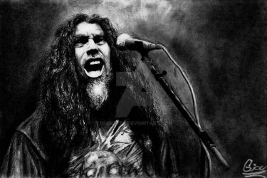 Tom Araya by DuskEyes
