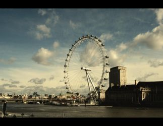cloudy london by oeminler