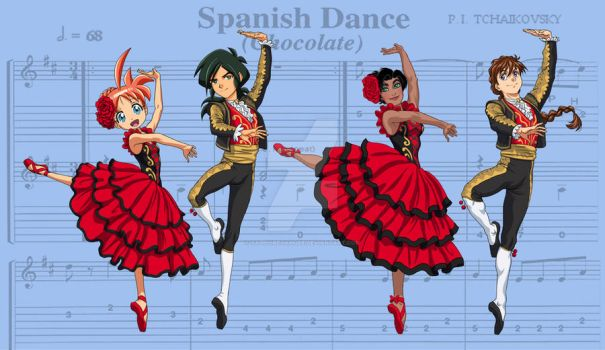 Nutcracker- Spanish Dance by SapphireGamgee