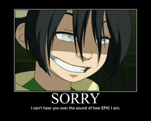 Toph Motivational Poster by Kuranue