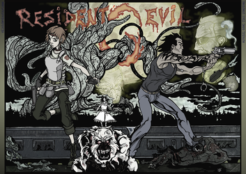 Resident Evil 0 tribute by Cilab