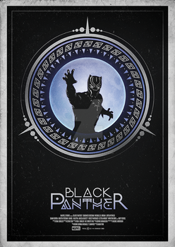 Black Panther - Alternative Movie Poster by Bryanosaurus777