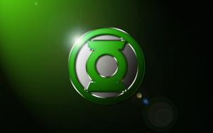 Green Lantern Logo Wallpaper -V2- by SUPERMAN3D