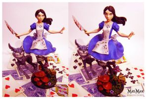 Alice Madness Returns statue by LuckyKrusky