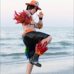 Portgas D. Ace one piece cosplay by ViolaCosplay