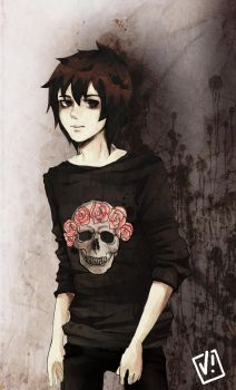 Nico Di Angelo by viliann