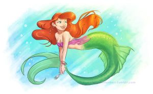 Ariel by rice-claire
