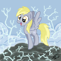 Derpy - Jumpy Jumpy by Template93