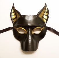 Bast Cat Leather Mask by Teonova by teonova
