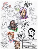 Martz Sketchbook 01 by Martzthecat