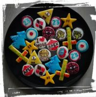 Gorillaz Cookies and more :D by 2D-Dipper