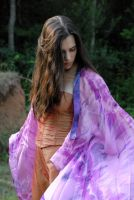 Carrie Anne in Silk 48 by LinzStock