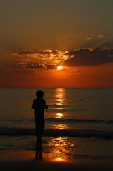 Sunset Fisher by codecube