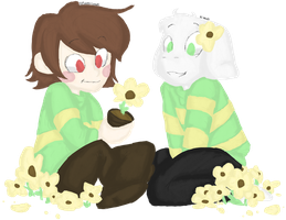 The Children of the Buttercups - .:COLLAB:. by PrincessCurrent
