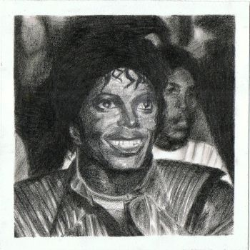 Michael Jackson in Thriller by nishaloveschocolate