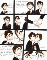 Klaine Comic: Rehearsal by NicWise