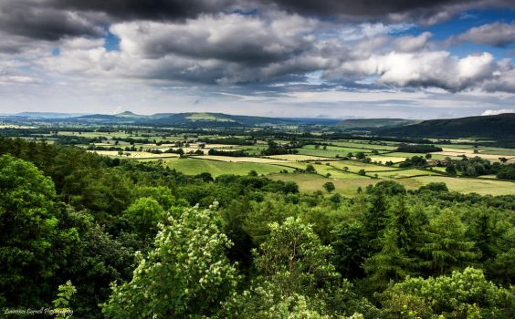 England's green and pleasant land. by LordLJCornellPhotos
