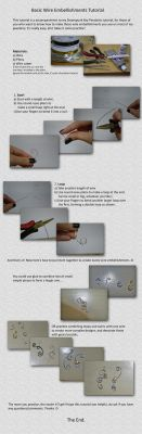 Wire Embellishments Tutorial by sodacrush