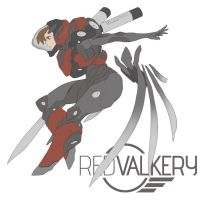 Red Valkery by Shady-Rogue