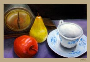 College - Still life by Omegaro