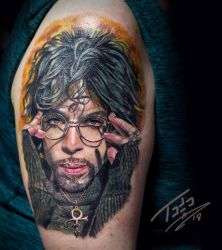 Prince-by-Todo-ABT-Tattoo by TodoArtist