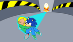 Sonic saves jade by AUBREY1144