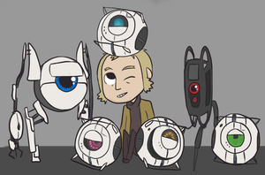 The Boys of Aperture Science by Super-Cute