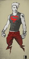 Superboy by TheBabman
