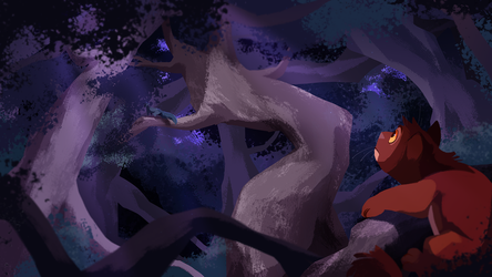Tangle of Trees by beffalumps