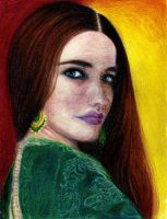 Eva Green by TheLunaLily