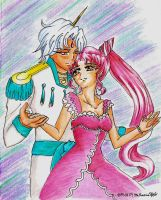 Chibiusa and Helios by MahoushoujoPurin