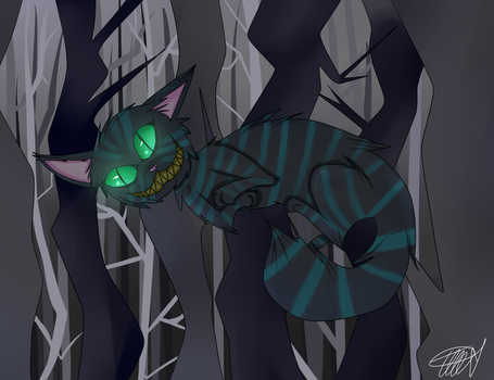The Cheshire Cat by zencat61
