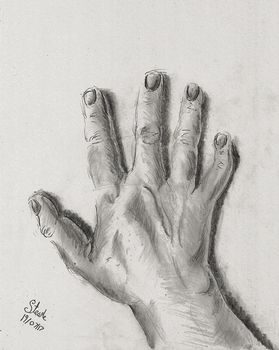 Hand realism attempt by SulaimanDoodle