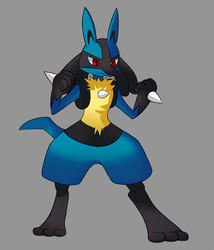 Lucario by CheloStracks