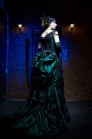 Gothic Victorian Ball Gown by Alice-Corsets