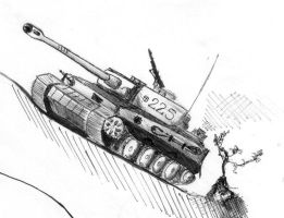 Panzer VI 'Tiger' by Colonel-Gabbo