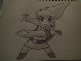 Toon Link by BitsN