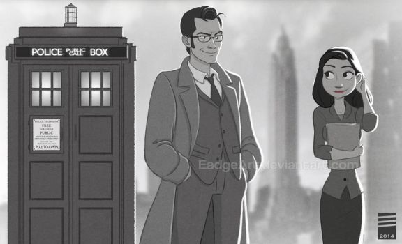 Paper DOCTOR WHO by EadgeArt