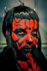 Darth Maul Close up by lycanthropica