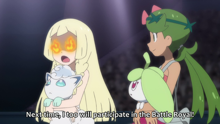Lillie Wants To Battle Next Time (SM081) by Hewdraw