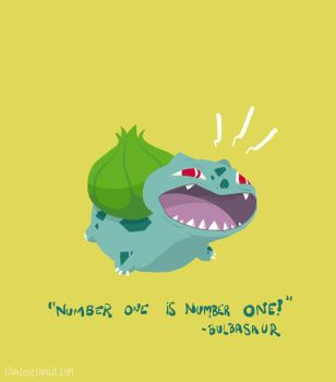It's Bulbasaur by claudetc