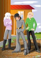 Young rascals by Katze-North