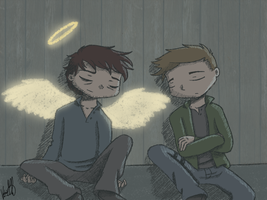 SPN - The End by ArcherVale