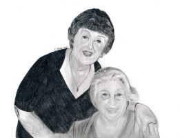 Nan and Barbs by CLK-Art-N-Designs